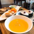 韓国ごはん。アレンジが楽しい!米粉で作る「かぼちゃのおかゆ」。