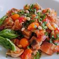 夏野菜大量消費レシピ!シチリアに旅行気分が味わえる シチリア風夏野菜のトマト煮込み カポナータ【プラントベース/PBWF/ノンオイル】