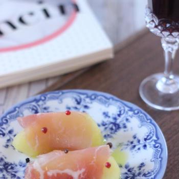 りんごの白ワイン煮の生ハム巻き 適切な薬とデイサービス、ご飯を作るの3本柱で認知症予防