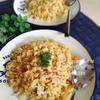 ハムと玉ねぎのパラパラスパイシー炒飯