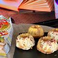 「天ぷら粉黄金」でクグロフ型いちごピューレ入りケーキ・・デルメのチョコレート