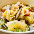 干し野菜のスープ (基本/応用)・手羽元メモ
