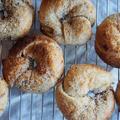 自家製酵母で作るココナッツレーズンベーグルのレシピと、ビアードパパのちびっこパティシエセットの話