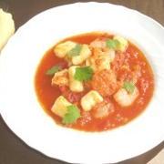 えびプリっ美肌ニョッキ*塩麹トマトソース