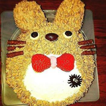 立体型ケーキ♡トトロケーキ