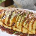【レシピ・おつまみ・動画】普段よりキャベツがたっぷり!とろーりチーズのとん平焼き