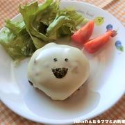 簡単★かぼちゃたっぷりハンバーグ