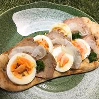 煮豚とゆで卵のがっつりナン☆陸上大会