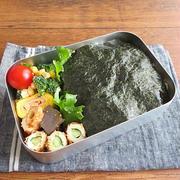 """お弁当のごはんに""""海苔弁ごはん"""" by kaana57さん"""