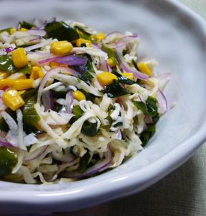 わかめと切干大根の常備サラダ