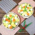 ★リメイクおせち★筑前煮の残りなんて言わせない!! 野菜畑のちらし寿司