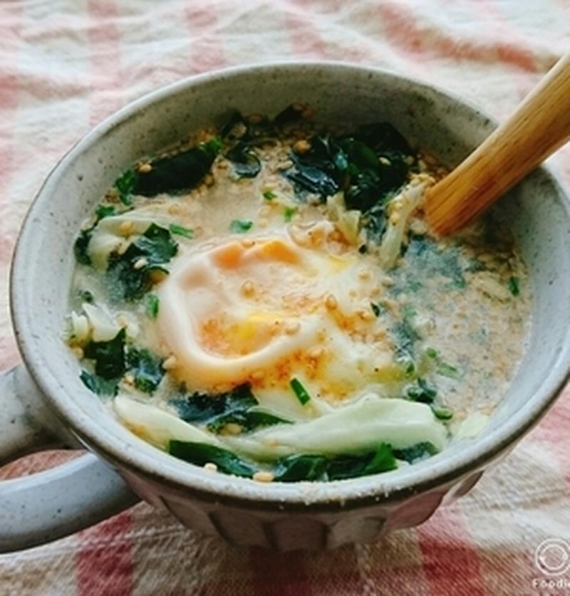 忙しい朝もお腹満足!5分で作る簡単「たまごスープ」