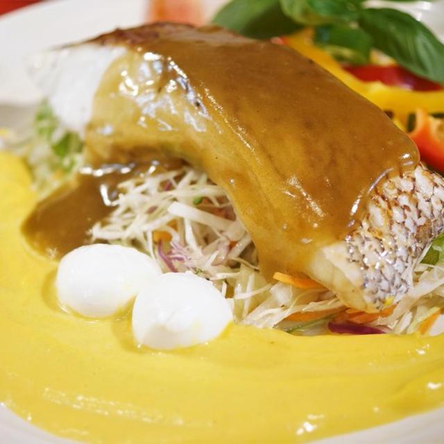 ■おつまみおかず☆出汁とスパイスの魔法シリーズ「旬の魚でビネガーソテー」使用で【活き〆鯛の炙り焼きWソースで贅沢に♪】