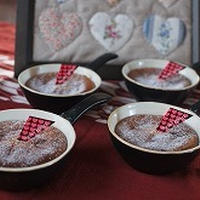美味しさダブルの恋するチョコケーキ