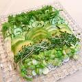 うちの夏ごはん「グリーンコブ素麺」。 by イェジンさん