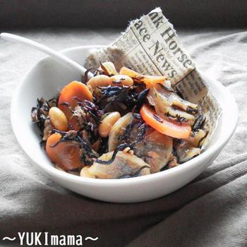 今日のイチオシレシピ〜朝時間.jp〜出汁うま♪ツナと大根のほっこりひじき煮(作りおき常備菜)〜