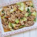 スピードレシピ!簡単 *豚肉とチンゲン菜のオイスターソース炒め*