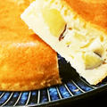 炊飯器で、米粉さつまいもケーキ