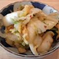 たぶん今年最後の BBQ 日和 ~ 白菜のキムチ風コチュジャン漬け