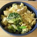 朝から夫婦喧嘩 ~ 玉葱と絹ごし豆腐の卵とじのレシピ 閲覧回数 18670