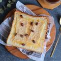トーストマニアの偏愛レシピ【きな粉もちトースト】