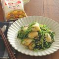【#いの一番 #うま味調味料】いかと豆苗のうま塩バター昆布炒め by kaana57さん