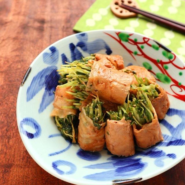 包丁&まな板いらず☆豆苗の豚肉巻き【#簡単 #キッチンバサミ #お弁当】