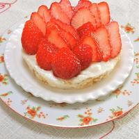 混ぜて固めるだけ〜の簡単スイーツ!バニラ香るヨーグルトチーズムースケーキ。