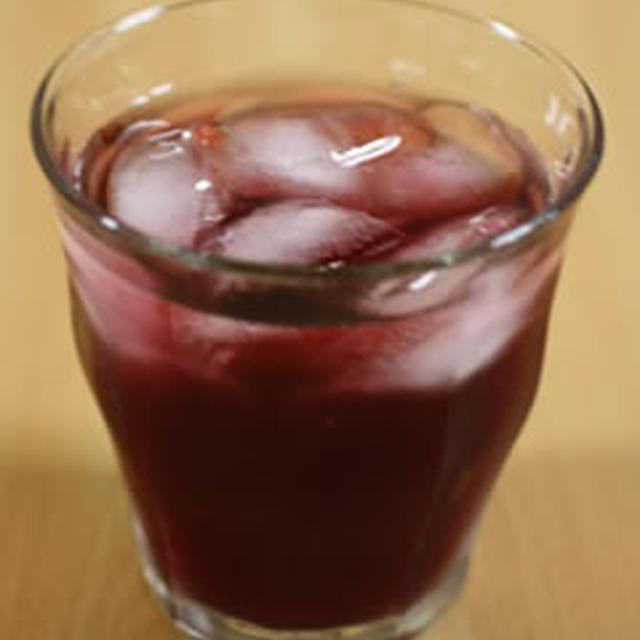 グレープジュースとリンゴ酢のサワードリンク