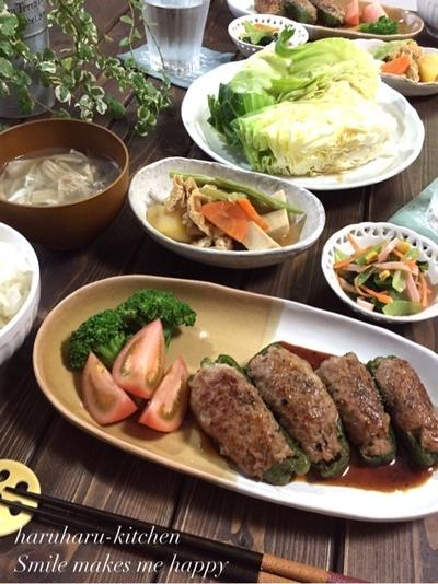 優しい味付けの煮物♡煮物作りのポイント…苦手なピーマンが???