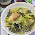 タイ料理♪葉やさいの煮込みチャプチャイ