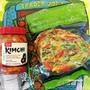 トレジョのキムチとパジョン Trader Joe's Korean Kimchi and Scallion Pancakes (Pa jeon)