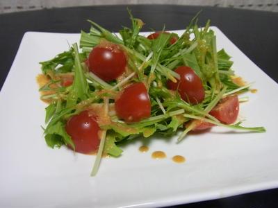 >野菜不足のすべての人に捧げるたったひとつのドレッシングレシピ by ささみんさん