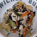 レンジで時短☆豆腐とひじきの煮物、そして金柑ジャムで蒸しパン