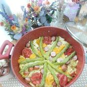 お野菜たっぷり☆パエリア