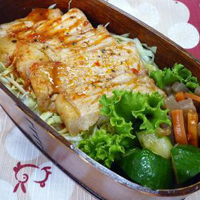 中華風豚丼弁当