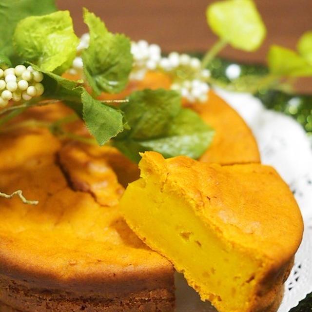 濃厚かぼちゃケーキ