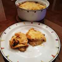 タイシレシピコンテスト(油揚げ)に落選したレシピ ふわふわお揚げのラザニア