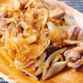 【レシピ】豚ハツと玉ねぎの味噌炒め