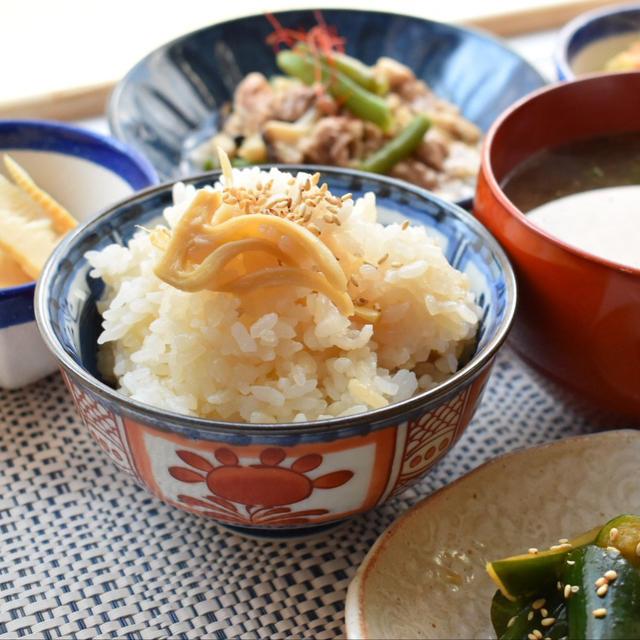 【レシピ】筍ごはんは食べましたか??作り置きも出来る筍ごはんの素の作り方