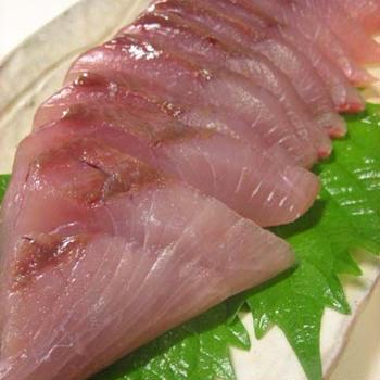 いさきの刺身などの和食です
