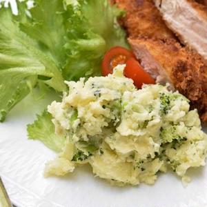 じゃがいもとブロッコリーのねぎ塩風味のポテトサラダ