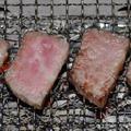 ヒウチ(とも三角・国産牛モモブロック)の炭火焼