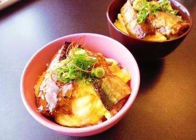 秋刀魚缶de丼