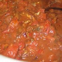オメナのトマト煮込み