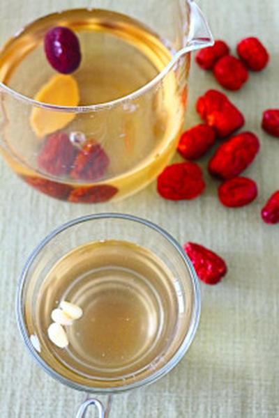 ★薬膳でデトックス効果や体を温めるのに抜群「なつめ茶(대추차)」。