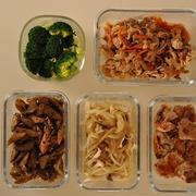 週末に作っておきたい!時短お弁当セット【作り置きおかず茹で置き野菜】