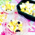 パイナップルとブルーベリーのココナッツヨーグルトバーグ♡グルラボ♡簡単アイス♡