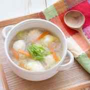 【朝ごはんにも!】作り置きできる!具沢山のあったかスープ
