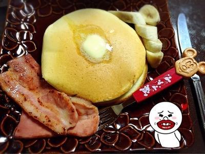 日曜のランチはホットケーキ by Queenayaさん | レシピブログ ...